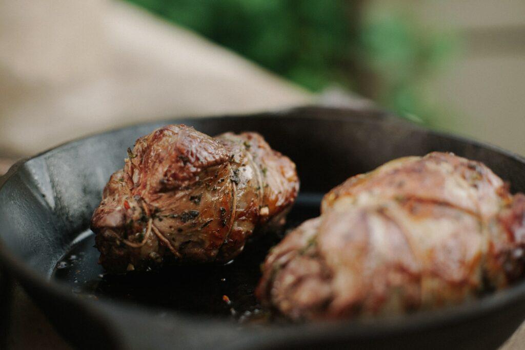 marinaded beef