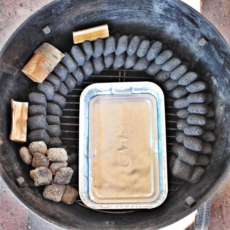charcoal snake method
