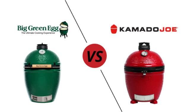 Big Green Egg vs Kamado Joe – Who Makes the Best Kamado grill?